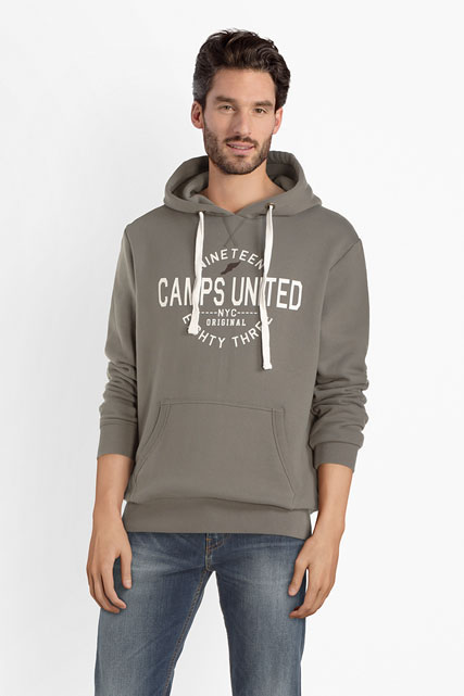 Sweat-shirt à capuche logo CAMPS UNITED