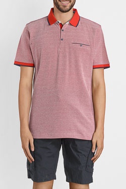 Polo CARDIN 52064T9136 Rouge