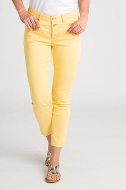 Pantalon COMMA 995.76.3150 Jaune