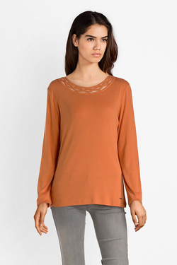 Tee-shirt manches longues DIANE LAURY 52DL2TS821 Orange