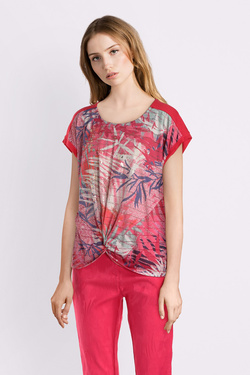Tee-shirt DIANE LAURY 53DL2TS608 Rose fuchsia