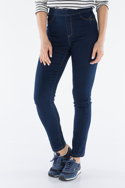 Jegging stretch coupe ajustée DIANE LAURY