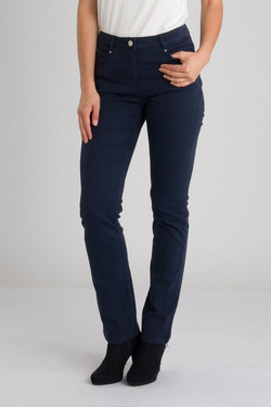 Pantalon DIANE LAURY 54DL2PS801 Bleu marine