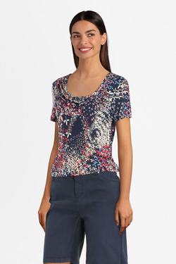 Tee-shirt DIANE LAURY 55DL2TS502 Multicolore