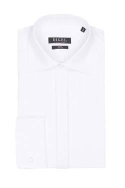 Chemise manches longues DIGEL 1001217/80 Blanc