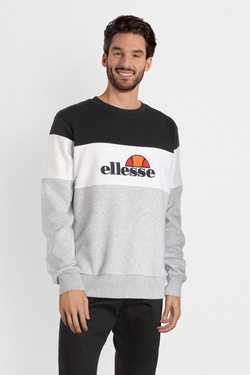 Sweat-shirt ELLESSE EH H CREW NECK TRICOL EMBROID Noir