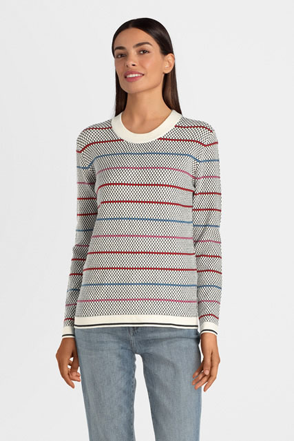 Pull maille relief pois ESPRIT