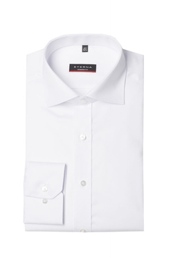 Chemise manches longues ETERNA X177 8817 Blanc