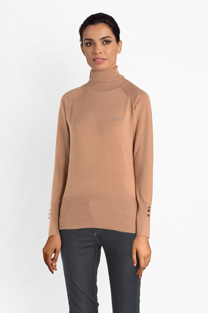 Pull col roulé fine jauge GUESS