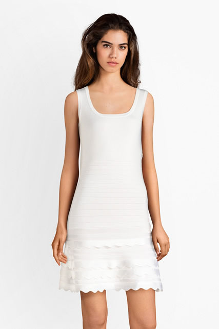 Robe en maille stretch uni GUESS