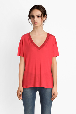 Tee-shirt I CODE BY IKKS QN10034 Rouge