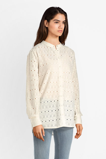 Chemise en broderie anglaise ICHI