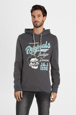 Sweat-shirt JACK AND JONES 12160196 Gris