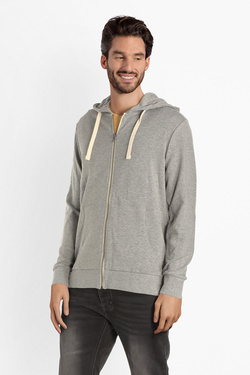 Sweat-shirt JACK AND JONES 12136884 Gris