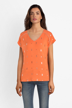 Tee-shirt JULIE GUERLANDE 53JG2TS780 Orange