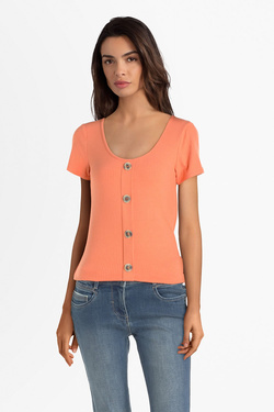 Tee-shirt JULIE GUERLANDE 55JG2TS210 Orange