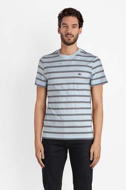 Tee-shirt LACOSTE TH3248 Bleu ciel