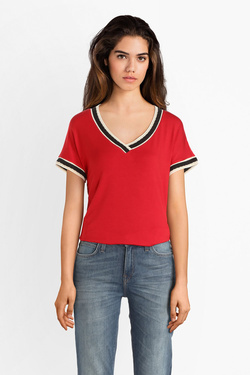 Tee-shirt MEXX 70690 Rouge