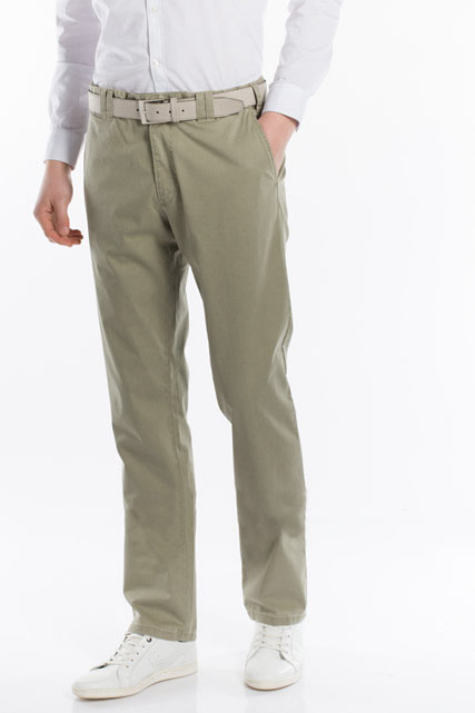 Pantalon chiné coton stretch MEYER