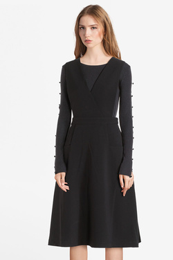 Robe MOLLY BRACKEN P1291A19 Noir