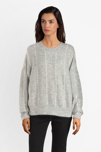 Pull mousseux coupe loose NINA KALIO