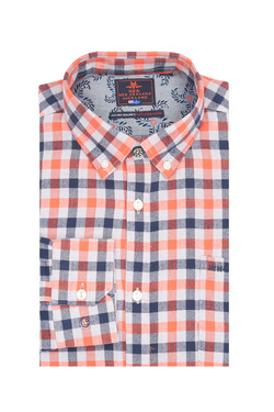 Chemise manches longues NZA NEW ZEALAND AUCKLAND 19NH561 Orange
