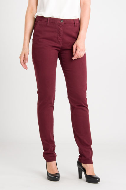 Pantalon chino coton stretch OLIVIA K