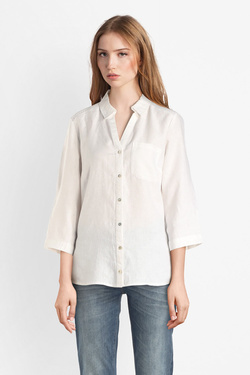 Chemise manches longues OLIVIA K 53OK2CH100 Blanc