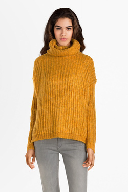 Pull ONLY 15187654 ONLCHUNKY Jaune moutarde