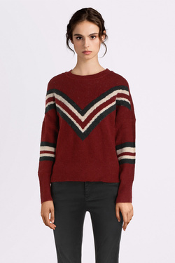 Pull ONLY 15189822 ONLTRINKA Rouge bordeaux