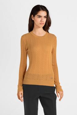 Pull ORFEO QING.SWT1100 Jaune moutarde