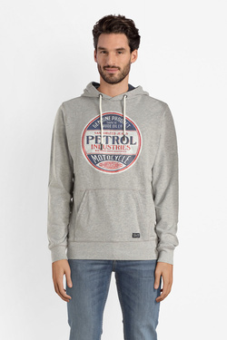 Sweat-shirt PETROL INDUSTRIES SWH300 Gris