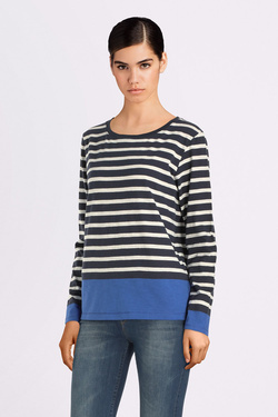 Tee-shirt manches longues S OLIVER 2029976 Bleu marine