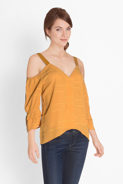 Blouse SALSA 119643 Jaune moutarde