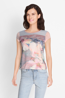Tee-shirt SMASH S1814417 KARAJA Rose