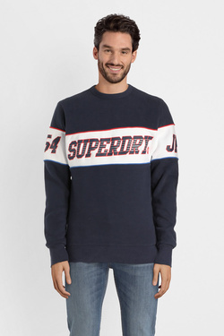 Sweat-shirt SUPERDRY M20101ST Bleu marine
