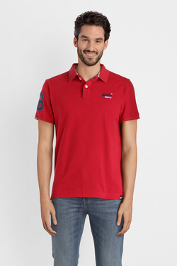 Polo SUPERDRY M11006ET Rouge
