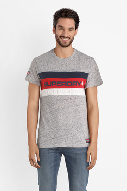 Tee-shirt SUPERDRY M10107ST Gris