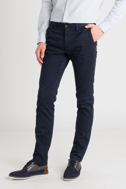Pantalon chino en coton stretch TIBET
