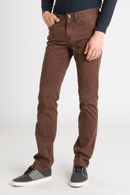 Pantalon 5 poches en coton stretch TIBET