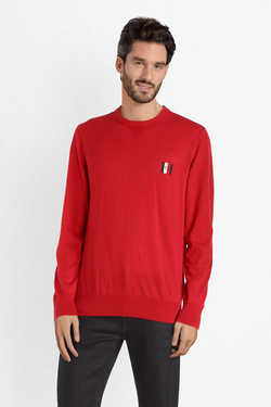 Pull TOMMY HILFIGER MW0MW10852 Rouge