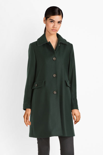 Manteau long uni TRENCH AND COAT