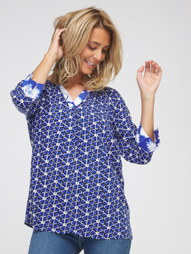 Blouse BETTY BARCLAY 8321 2195 Bleu