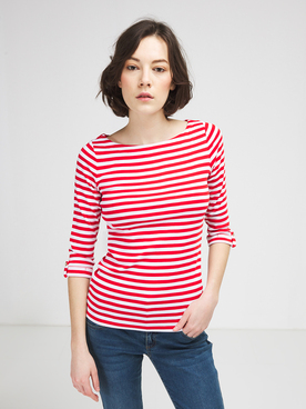 Tee-shirt manches longues ESPRIT 991EE1K303 Rouge