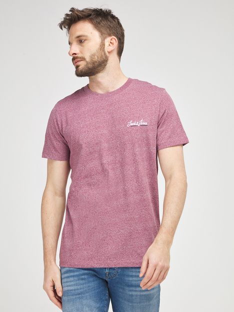 Tee-shirt mini logo brodé JACK AND JONES