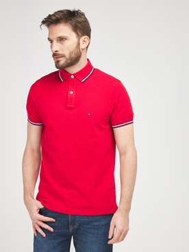 Polo TOMMY HILFIGER MW0MW16054 Rouge