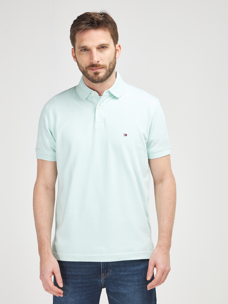 Polo en piqué coton stretch TOMMY HILFIGER