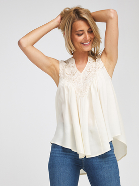 Blouse MOLLY BRACKEN R1263E21 Beige