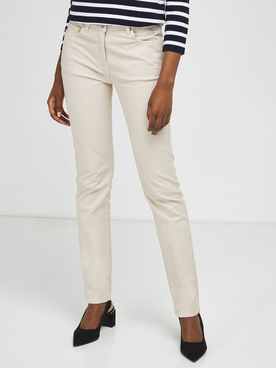 Pantalon JULIE GUERLANDE 57JG2PS000 Beige clair