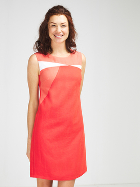 Robe DIANE LAURY 57DL2RO300 Rouge vermillon